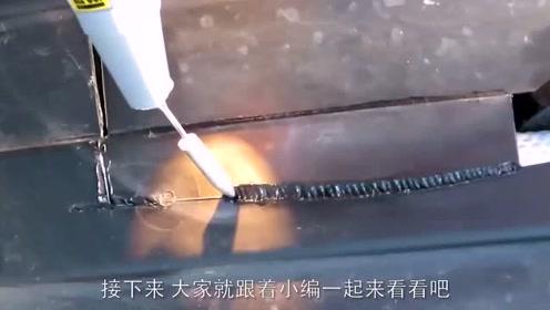 老外用3D打印笔,焊接东西,效果如何呢?