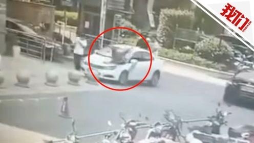 监拍杭州一网约车将乘客撞到腾空后落地 回应:永久停止服务