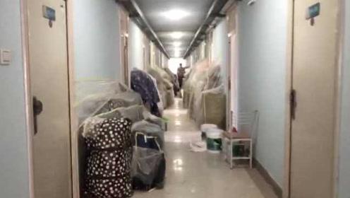 曝高校宿舍改装线路,学生自费住酒店:忍不了,环境像沙尘暴