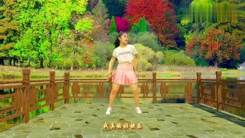 一首《一万个舍不得》广场舞版,音乐舒心,舞步简单,适合大众