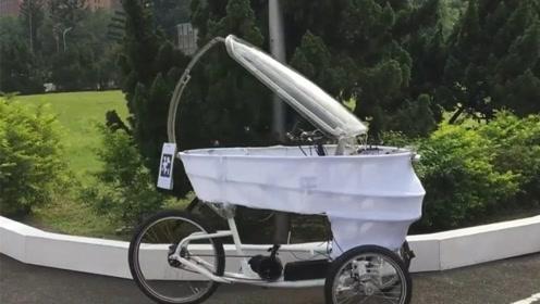 自行车也无人驾驶了,你猜会怎么样
