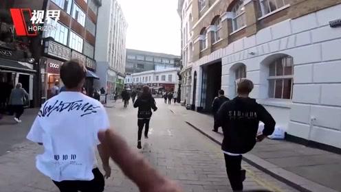 英国跑酷团队挑战与地铁赛跑 GoPro拍下全程令人热血沸腾