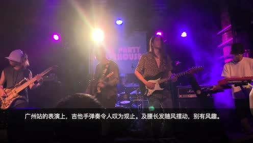 """""""五人转""""广州开唱,吉他小哥长发及腰妖媚辣眼"""