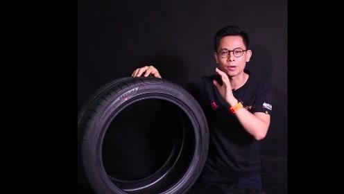 用邓禄普SP MAXX050+告诉你轮胎红点的意思