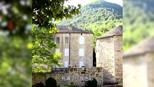 美丽浪漫的法国之旅,旅行中的法国峡谷
