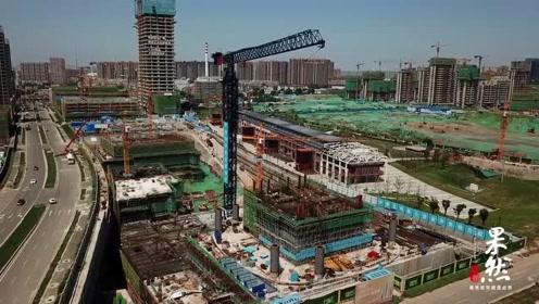 """建设速度火力全开的济南CBD""""五指山""""建成啥样了?"""