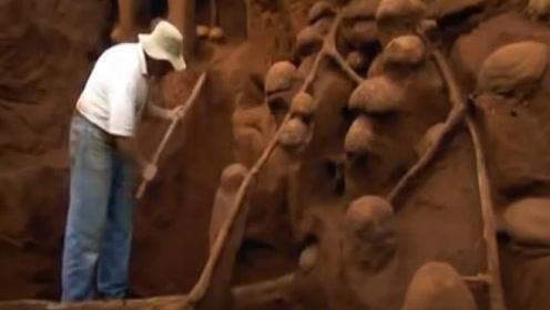 男子挖出全球最大蚂蚁窝,里面大到能住人,网友:蚂蚁帝国