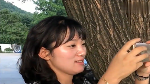 对这个朝鲜美女导游一见钟情,她竟然真的对我说了擦浪嘿!