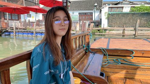 穷游上海朱家角,花80元坐船游古镇,这风景美得不可思议!