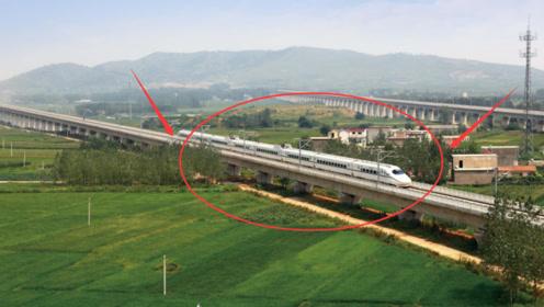 为什么中国高铁不走平地,却要花大钱建高架?工程师道破背后原因