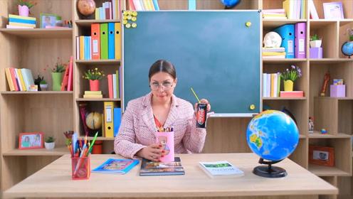 在课堂上怎么偷吃食物,小姐姐教你方法,老师累死也发现不了