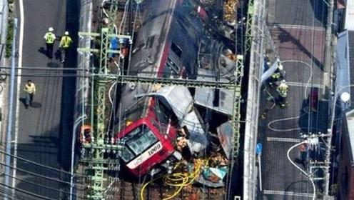 日本特快列车与货车相撞 已造成30多人受伤