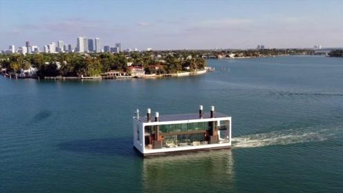 老外打造的海上别墅,和船一样漂在海上,售价高达3600万元
