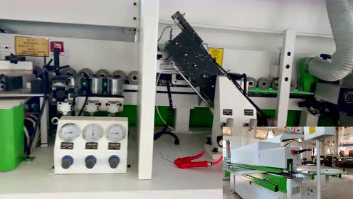 【蓝象数控】板式家具生产线-封边机操作实拍