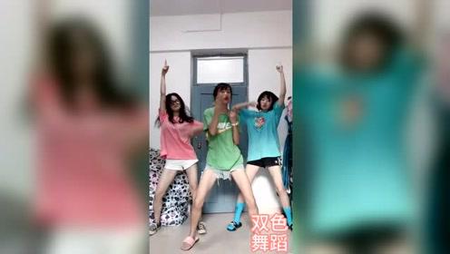 大学女生宿舍大跳《野狼disco》,这视频哥看一天都不腻!