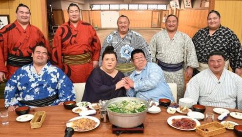 日本的相扑这么胖,一天得吃多少东西?网友:是我3天的饭量!