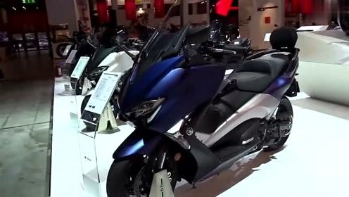 雅马哈新款踏板车,被称为踏板界的跑羊,多边形仪表盘+ABS