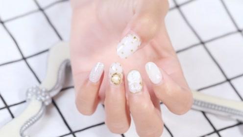 白色奢华 浅雕玫瑰花