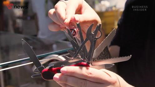 你知道万能的瑞士军刀是怎么制作的嘛?