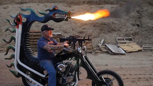 10个世界上最疯狂的摩托车设计,你觉得哪个脑洞最大?