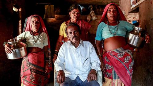 """印度""""水妻""""处境悲惨,不仅要忍让原配,还得给丈夫""""取水"""""""