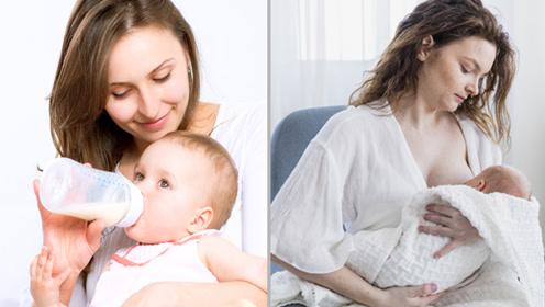 都是母乳喂养 但奶瓶喂养和乳房喂养差别可不是一般的大