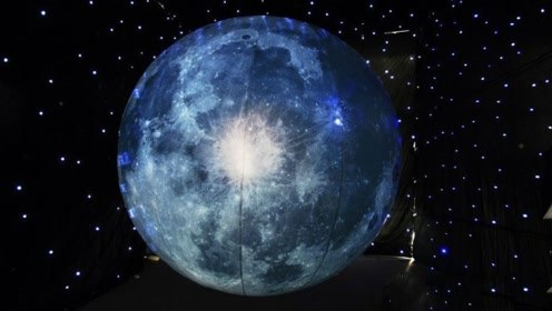 人造月亮光度超月球8倍,亮度可以控制调节,不会影响睡眠