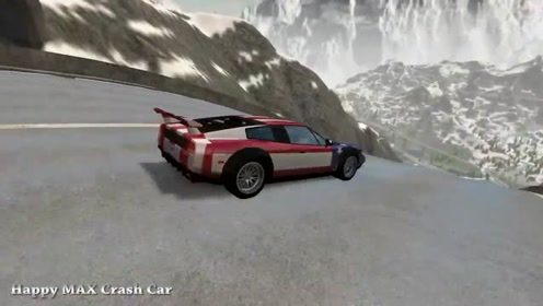 汽车驾驶游戏:史诗般的高速跳跃碰撞