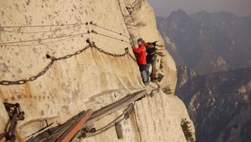 """中国最""""霸道""""楼梯,只要上去想后退都不行,网友:挑战耐力极限"""