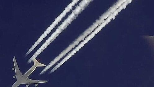 飞机经过为何会有一道白烟?原来我们被大人骗了这么多年