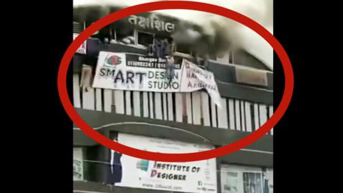 18岁女学生把自己挂在5层高楼,声称第一视角,父母彻底绝望!