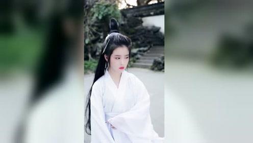 小姐姐的仙气有点重啊,居然有王祖贤刘亦菲的气质!
