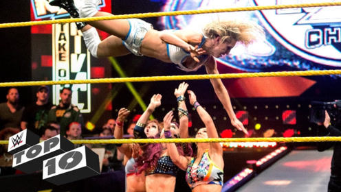 WWE女子四骑士十大相爱相杀 极限对决拉高女子擂台水准