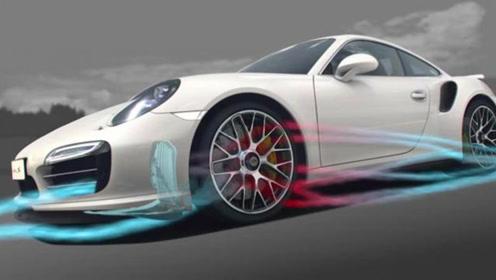 跑车车身设计只是为了好看?揭秘保时捷空气动力,原来都是小心机