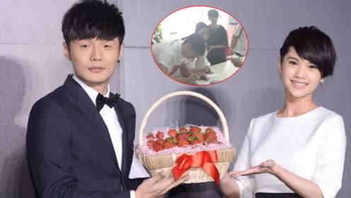 网曝李荣浩杨丞琳合肥领证 疑似两人现身市政厅照片曝光
