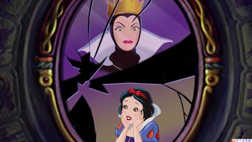 美妆:女子化妆打扮成动画里的邪恶皇后,就是她害惨了白雪公主