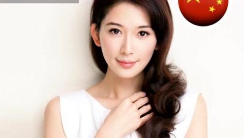 林志玲入选亚太最美面孔,看今年和去年海报,已婚未婚区别很明显