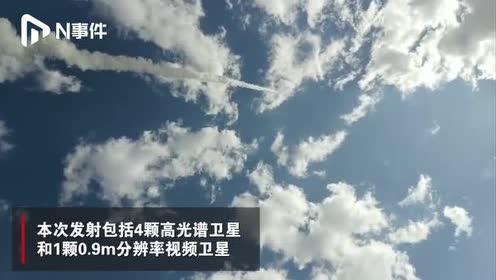 """一箭五星!""""珠海一号""""03组卫星成功发射,实现12颗卫星入轨"""