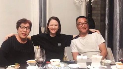乔任梁去世三周年陈乔恩朱桢探望其父母 一家人其乐融融