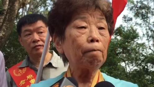 暴徒涂污抗日烈士纪念碑 84岁香港老游击战士愤怒谴责