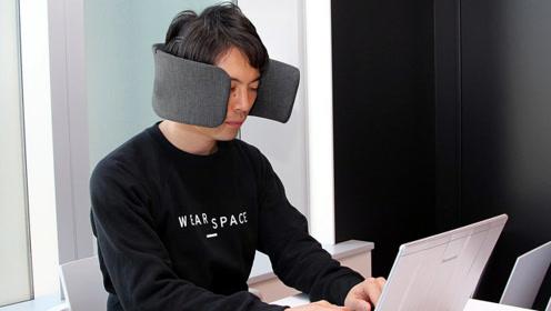 """岛国""""自闭症""""头盔,隔绝声音缩小视线,效率大增30%"""
