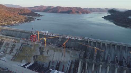"""""""中国水电之母""""吉林丰满水电站重建,首台机组正式投产"""