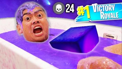 24小时泡在紫色粘液里会怎样?老外作死亲测,网友:像是中毒了