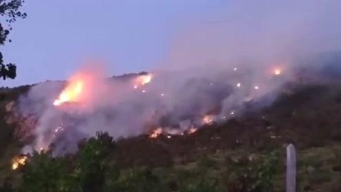 连云港花果山着火了!暂无人员伤亡,多部门正在紧急救援
