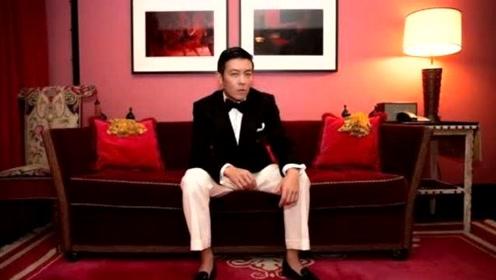 """陈冠希时尚穿搭 我一样能""""白裤配西装"""""""