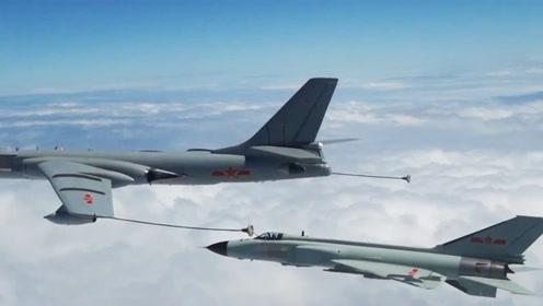 """""""八爷""""还在服役?第一视角直击歼-8II空中加油"""