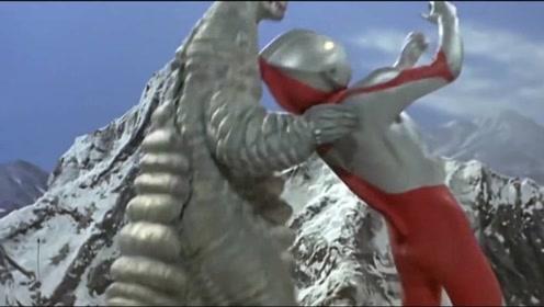雷德王VS初代奥特曼,原来有两只怪兽,一只还被人类消灭