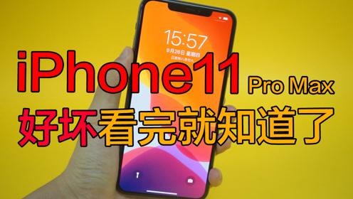 iPhone11 pro Max的好与坏,看完一清二楚