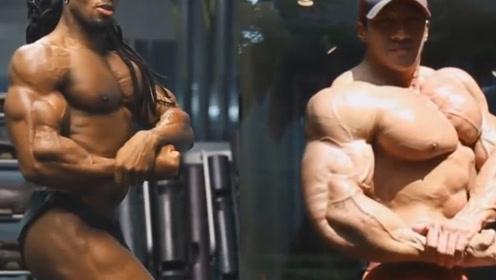 健美界的究极较量!亚洲人VS欧洲人,看看到底谁更强?