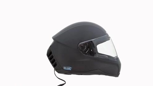 能给脑袋降温的头盔,可谓是夏日骑行神器,冬天自带除雾功能